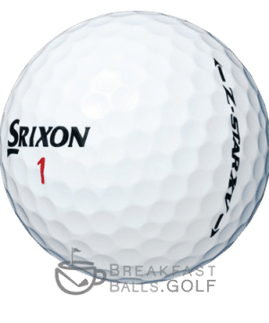 Srixon Z-star XV used golf balls breakfastballs.golf