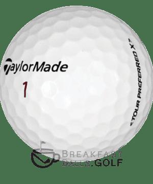 TaylorMade Tour Preferred used golf balls breakfastballs.golf