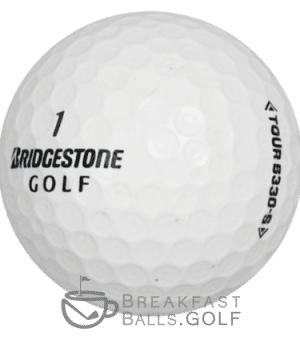 Bridgestone BXS B330s image of used golf balls