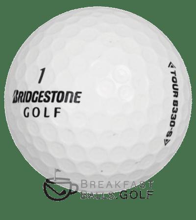 Bridgestone BXS B330s image of used golf balls