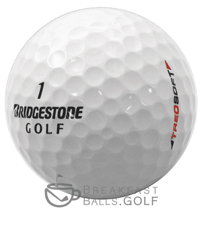 Bridgestone treosoft used golf balls
