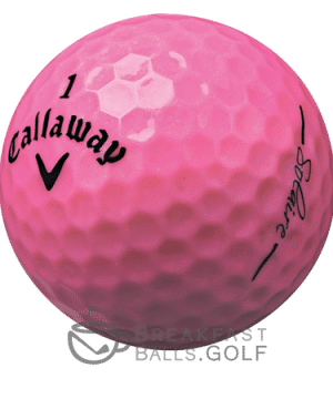 Callaway Solaire Pink used golf balls breakfastballsgolf