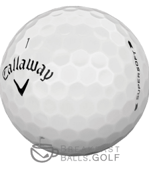 Callaway Supersoft used golf balls 2