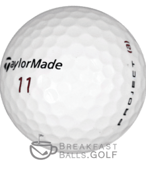 Image of TaylorMade Project A used golf balls