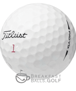 Image of Titleist Pro V1 2017 used golf ball