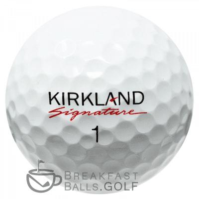 Kirkland used golf balls
