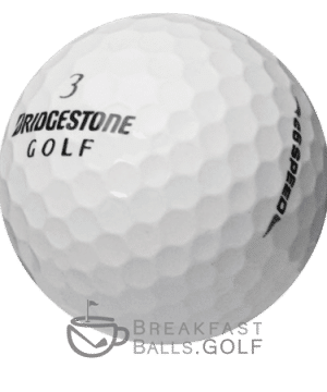 Bridgestone e6 SPEED used golf balls image