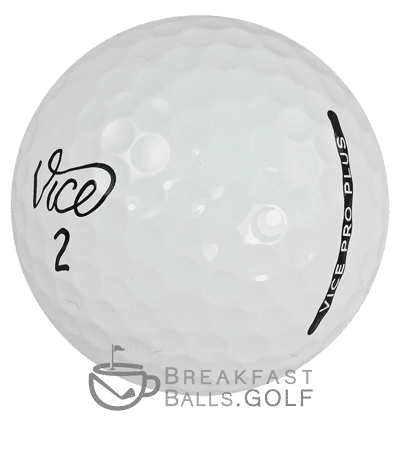 Image of Vice Pro Plus used golf balls