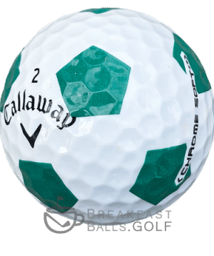 Callaway Truvis Green Used Golf Balls 1