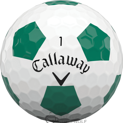 Callaway used golf balls truvis green soccer ball image