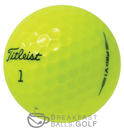 Titleist Pro V1 yellow used golf balls 910x1024 1