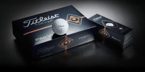Titleist Pro V1 used golf balls breakfastballs.golf dozen image of a box