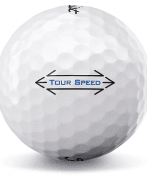 itleist Tour Speed used golf balls