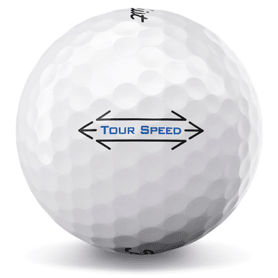 itleist Tour Speed used golf balls