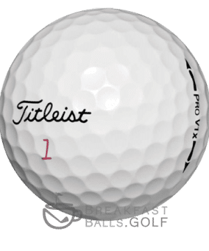 Titleist Pro V1x previous generations